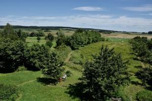 Ferienwohnung auf dem Feldsteinhof -  Blick in den Ziethener Seebruch