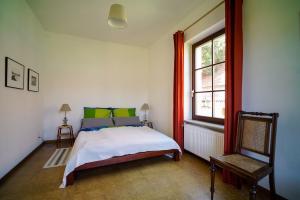 Ferienwohnung auf dem Feldsteinhof - Schlafzimmer